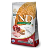 Farmina N&D Dog LG Adult Medium & Maxi Chicken, Spelt, Oats & Pomegranate 12 kg + DOPRAVA ZDARMA