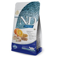 Farmina N&D Cat OCEAN Adult Codfish, Spelt, Oats...