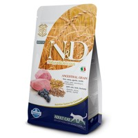 Farmina N&D Cat LG Adult Lamb, Spelt, Oats & Blu...