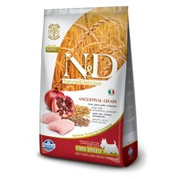 Farmina N&D Dog LG Adult Mini Chicken, Spelt, Oa...