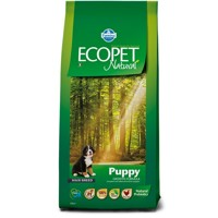 Ecopet Natural dog Puppy Maxi 12 kg + 2 kg ZDARMA