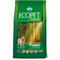Ecopet Natural dog Puppy Medium 12 kg + 2 kg ZDARMA