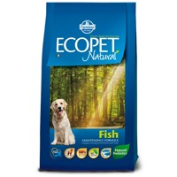Ecopet Natural dog Fish Medium 12 kg + 2 kg ZDAR...