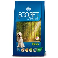 Ecopet Natural dog Fish Mini 12 kg + 2 kg ZDARMA
