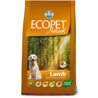 Ecopet Natural dog Lamb Mini 12 kg + 2 kg ZDARMA