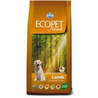 Ecopet Natural dog Lamb Maxi 12 kg + 2 kg ZDARMA