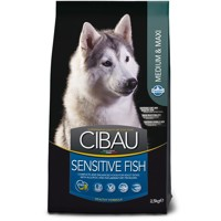 Cibau Dog Adult Sensitive Fish Medium & Maxi 2,5...