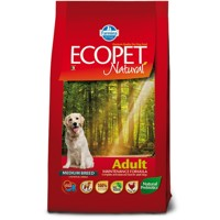 Ecopet Natural dog Adult Medium 2,5 kg