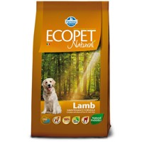 Ecopet Natural dog Lamb Medium 2,5 kg