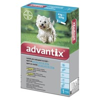 Advantix Spot-on pre psy od 4 do 10 kg 1 x 1,0ml