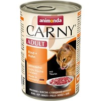 Animonda Carny Cat Adult hovädzie & kura 400 g