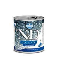 Farmina N&D Dog OCEAN Sea Bass & Squid 285 g
