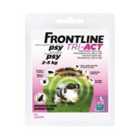 Frontline Tri-Act pre psy Spot-on XS (2-5 kg)