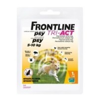 Frontline Tri-Act pre psy Spot-on S (5-10 kg)