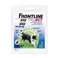 Frontline Tri-Act pre psy Spot-on M (10-20 kg)
